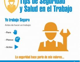 tips seguridad en el trabajo