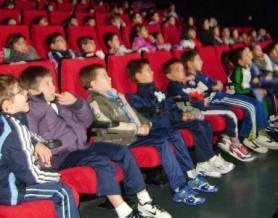 Niños en cine
