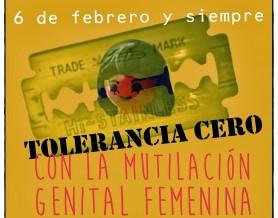 Tolerancia cero a la Mutilación Genital Femenina