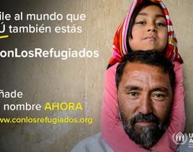 #conlosrefugiados