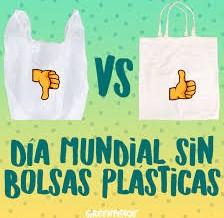 Día sin bolsas plásticas